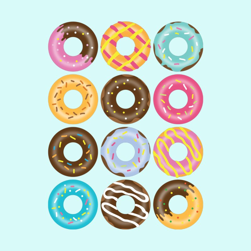 Yummy Donut by Beryl Design Shop