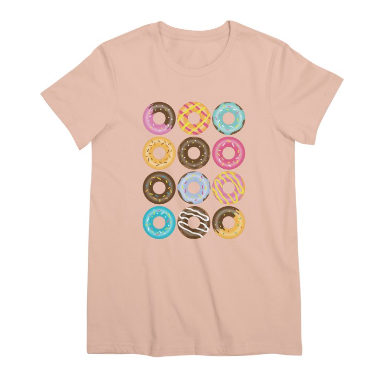 Yummy Donut Women's Premium T-Shirt by Beryl Design Shop