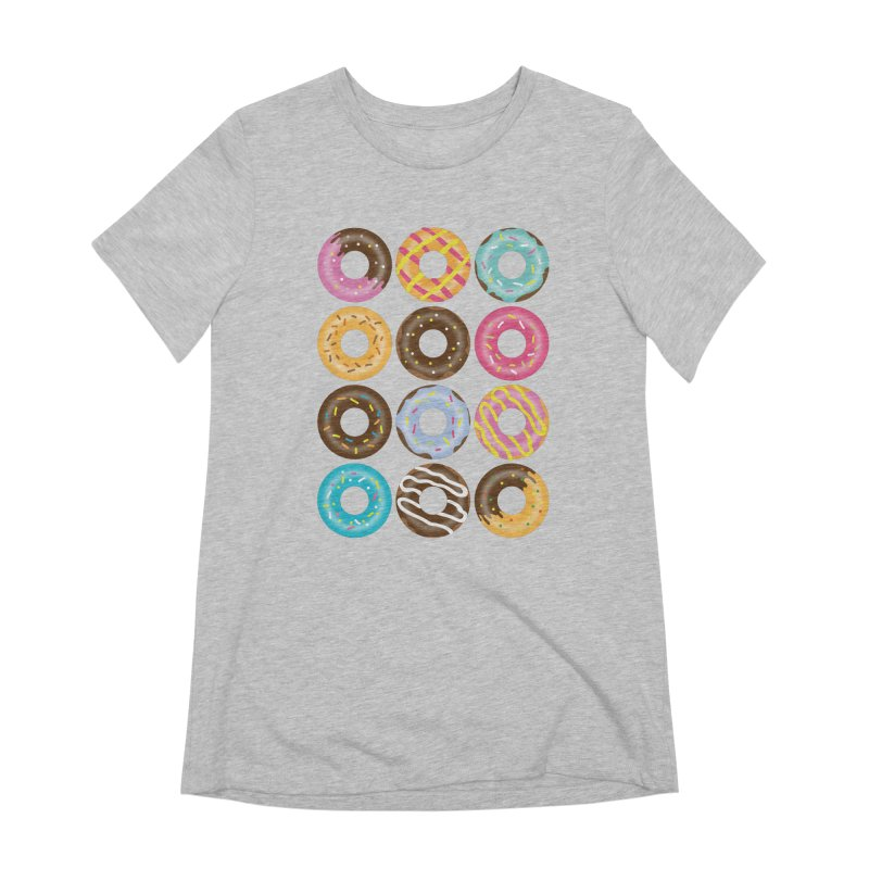 Yummy Donut Women's Extra Soft T-Shirt by Beryl Design Shop