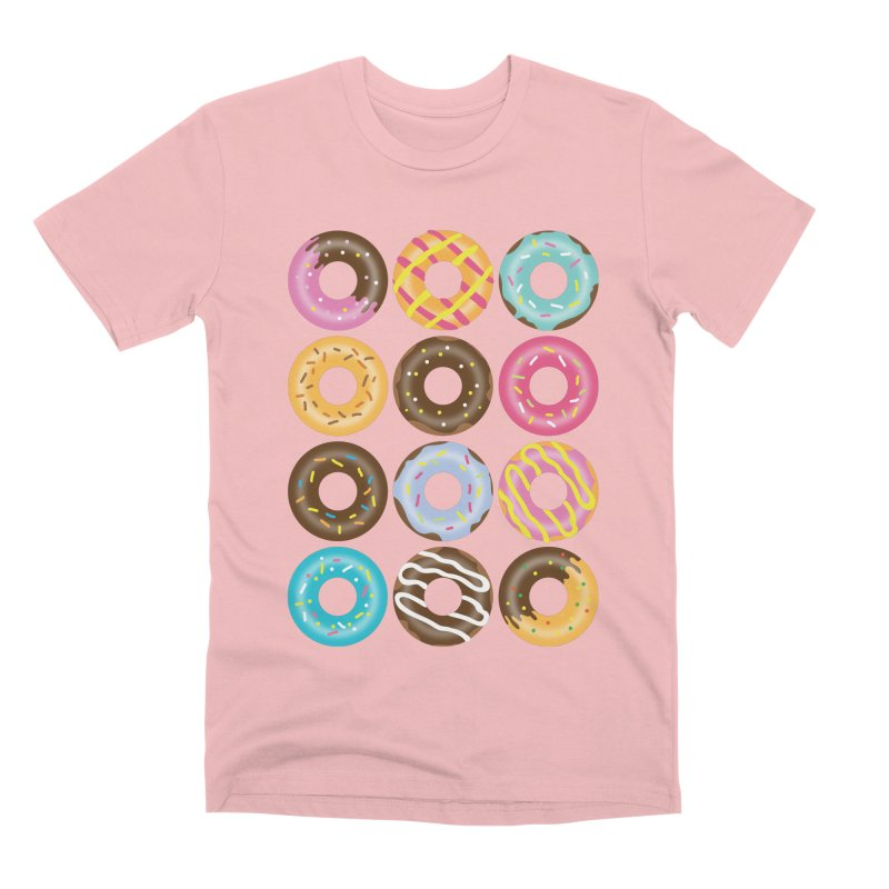 Yummy Donut Men's Premium T-Shirt by Beryl Design Shop