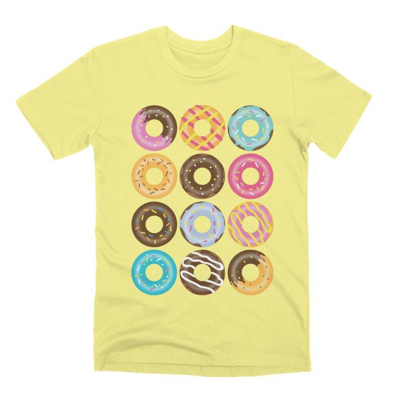 Yummy Donut Men's Premium T-Shirt by Beryl Design Shop
