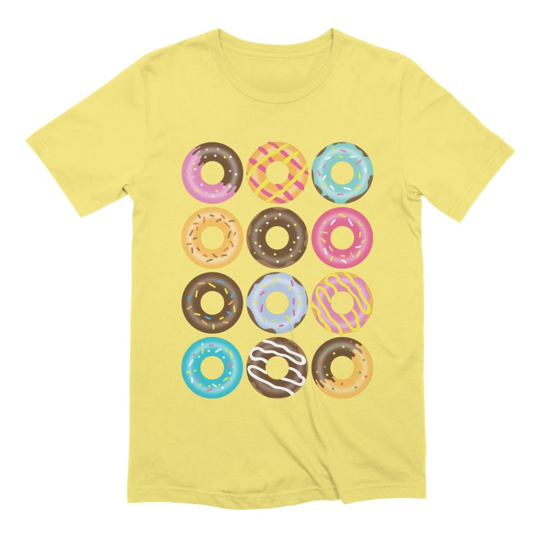 Yummy Donut Men's Extra Soft T-Shirt by Beryl Design Shop