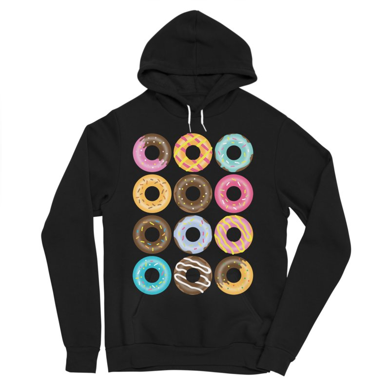 Yummy Donut Women's Sponge Fleece Pullover Hoody by Beryl Design Shop