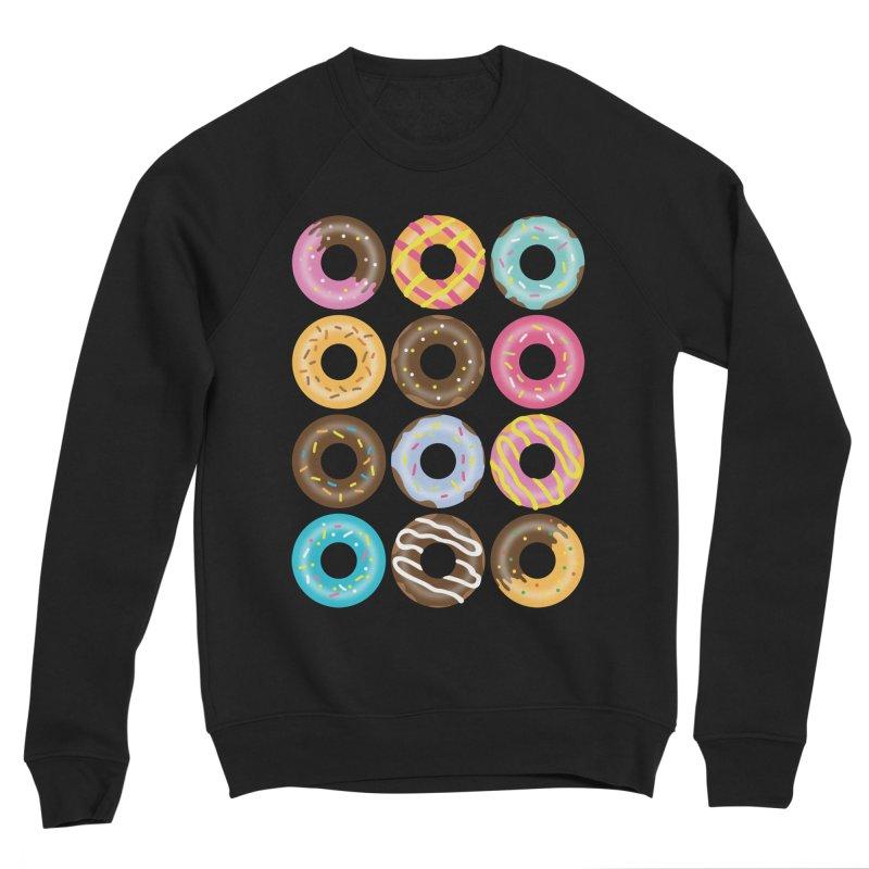 Yummy Donut Women's Sponge Fleece Sweatshirt by Beryl Design Shop