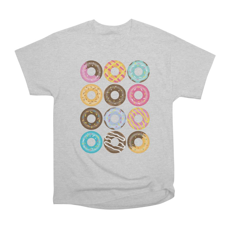 Yummy Donut Women's Heavyweight Unisex T-Shirt by Beryl Design Shop
