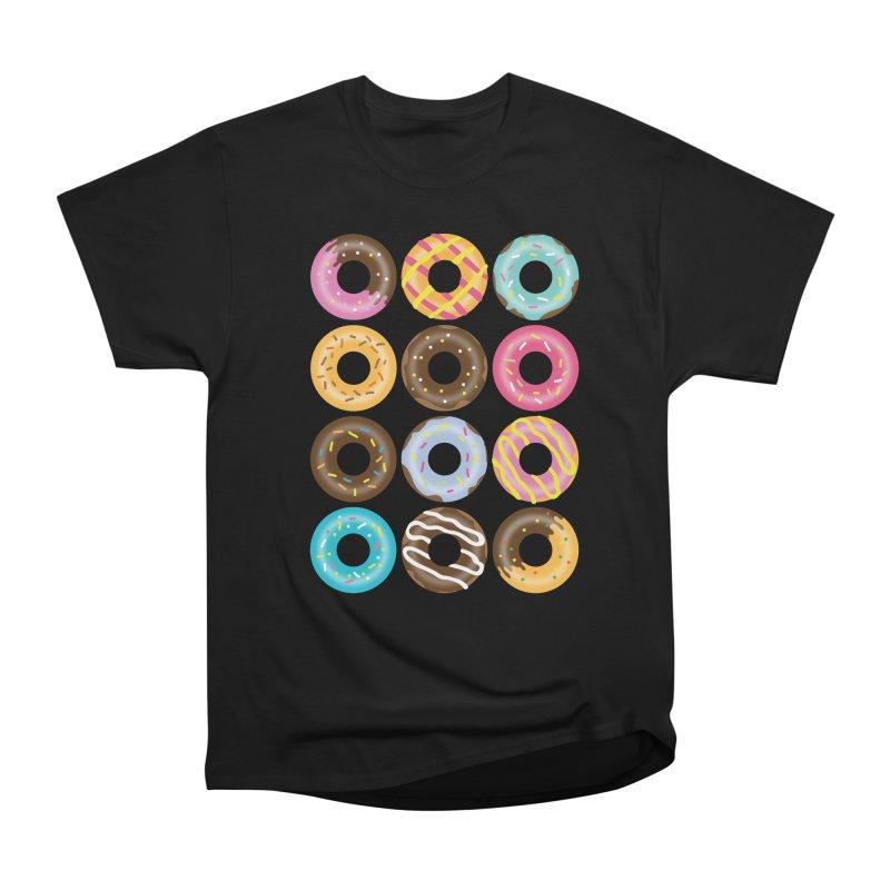 Yummy Donut Women's Heavyweight Unisex T-Shirt by Beryl Design Shop
