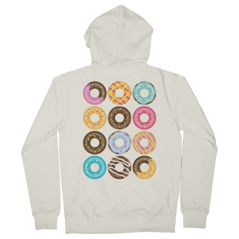 Yummy Donut Women's French Terry Zip-Up Hoody by Beryl Design Shop