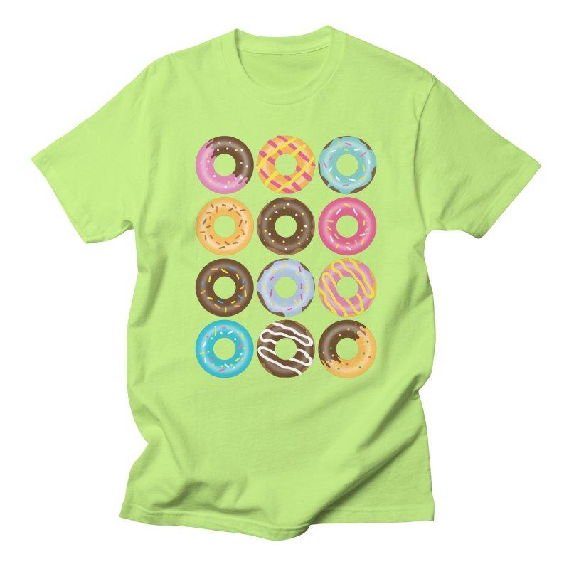 Yummy Donut Men's Regular T-Shirt by Beryl Design Shop