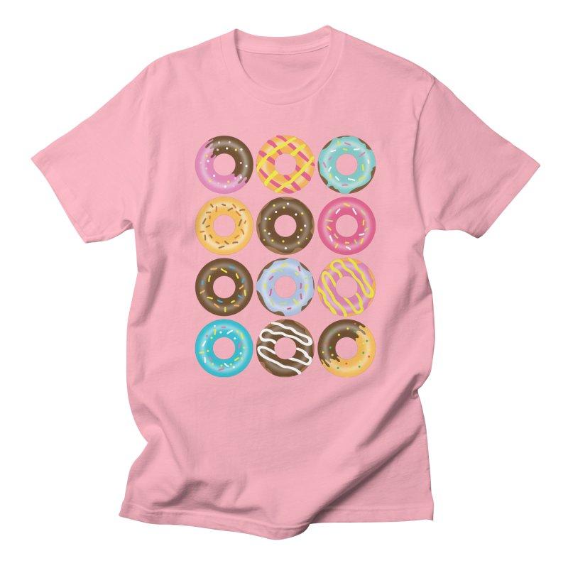 Yummy Donut Women's Regular Unisex T-Shirt by Beryl Design Shop