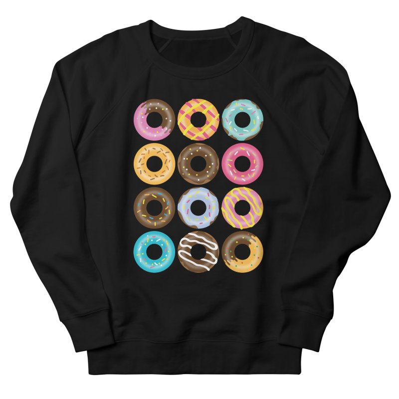 Yummy Donut Women's French Terry Sweatshirt by Beryl Design Shop
