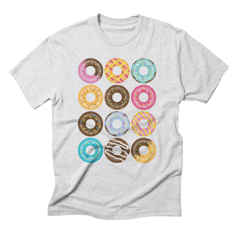 Yummy Donut Men's Triblend T-Shirt by Beryl Design Shop