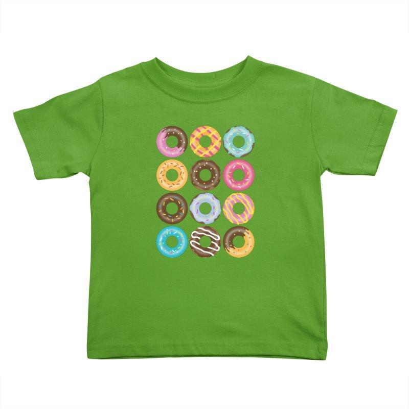 Yummy Donut Kids Toddler T-Shirt by Beryl Design Shop
