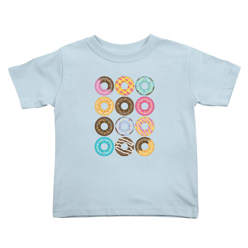 Yummy Donut Kids Toddler T-Shirt by Beryl Design Shop