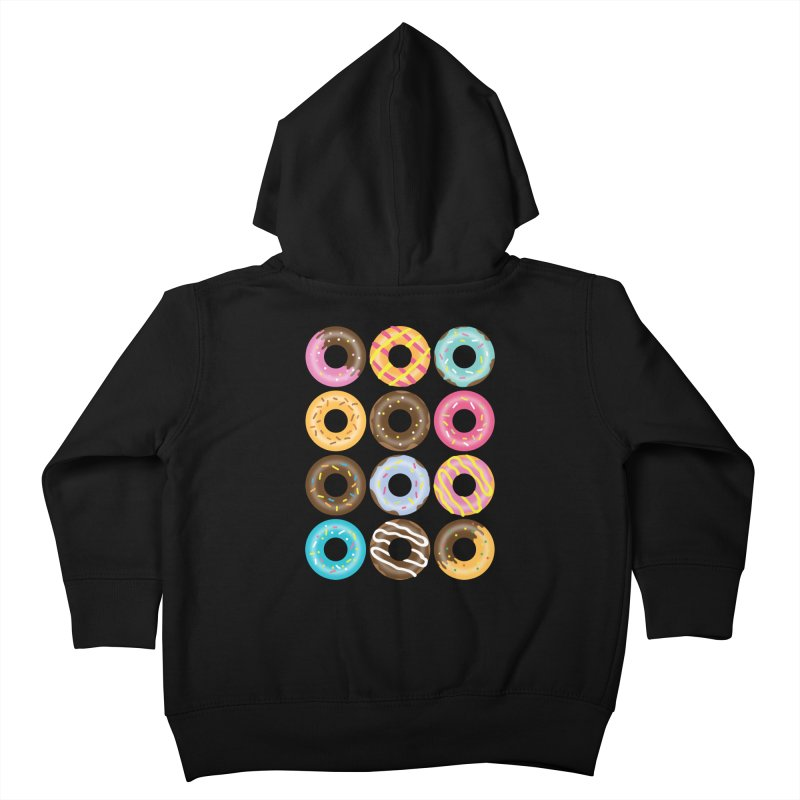 Yummy Donut Kids Toddler Zip-Up Hoody by Beryl Design Shop