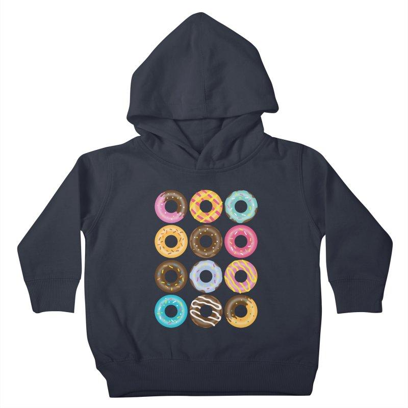 Yummy Donut Kids Toddler Pullover Hoody by Beryl Design Shop