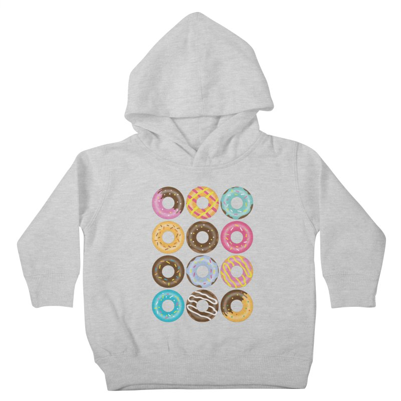 Yummy Donut Kids Toddler Pullover Hoody by Beryl Design Shop