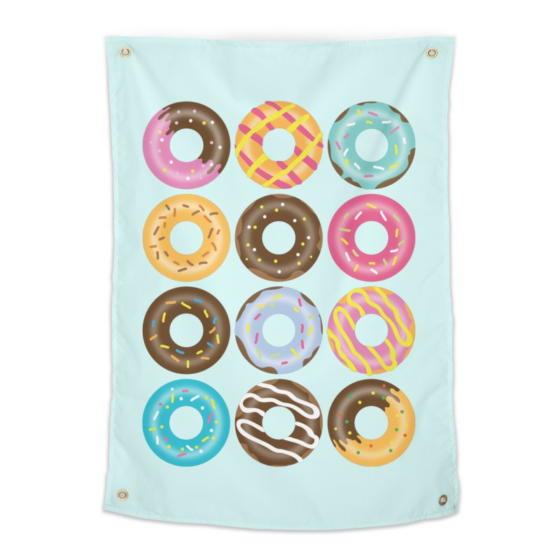 Yummy Donut Home Tapestry by Beryl Design Shop