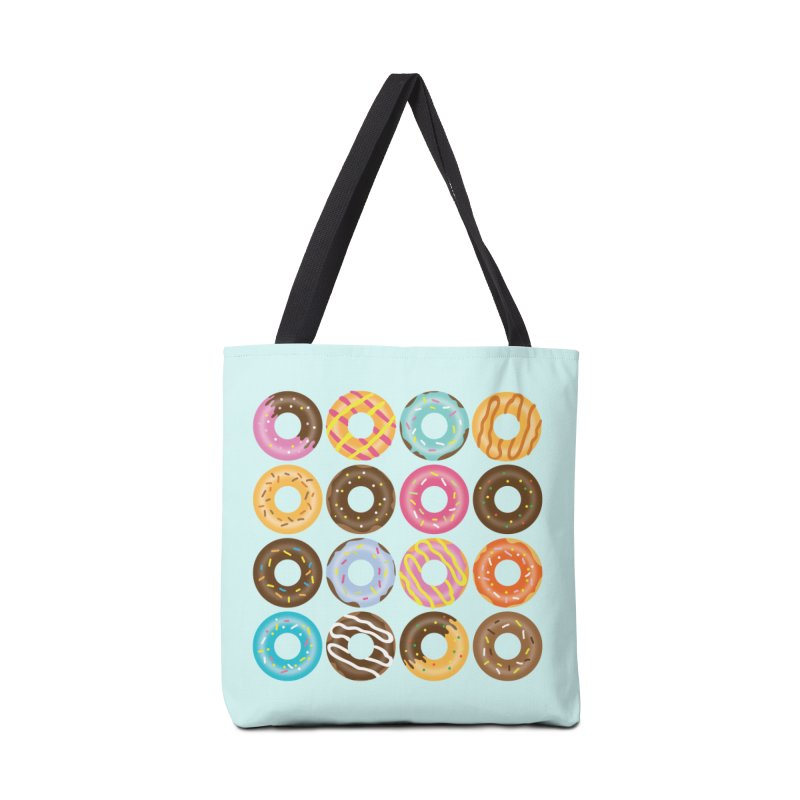 Yummy Donut Accessories Tote Bag Bag by Beryl Design Shop