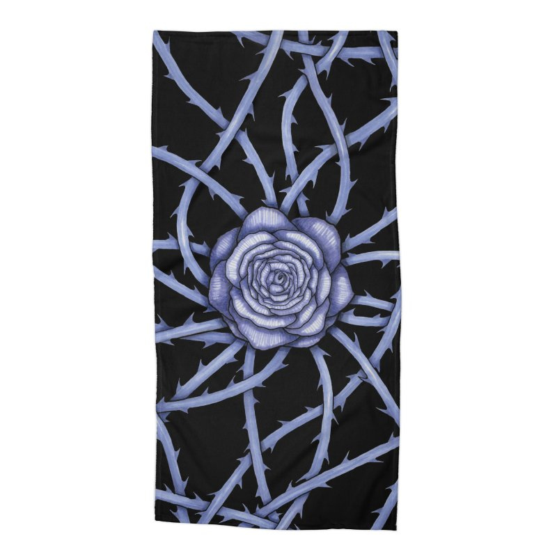 Rose Adversity Accessories Beach Towel by Beryl Design Shop