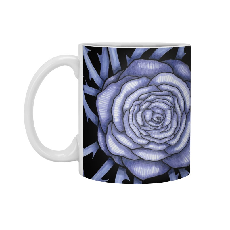 Rose Adversity Accessories Standard Mug by Beryl Design Shop