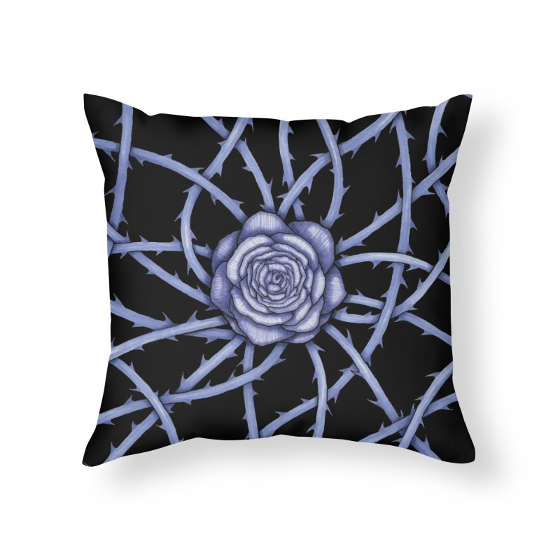 Rose Adversity Home Throw Pillow by Beryl Design Shop