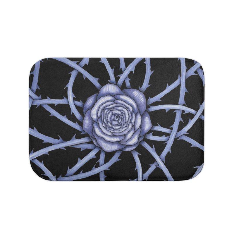 Rose Adversity Home Bath Mat by Beryl Design Shop