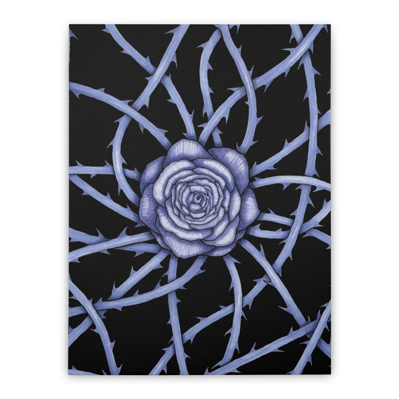 Rose Adversity Home Stretched Canvas by Beryl Design Shop