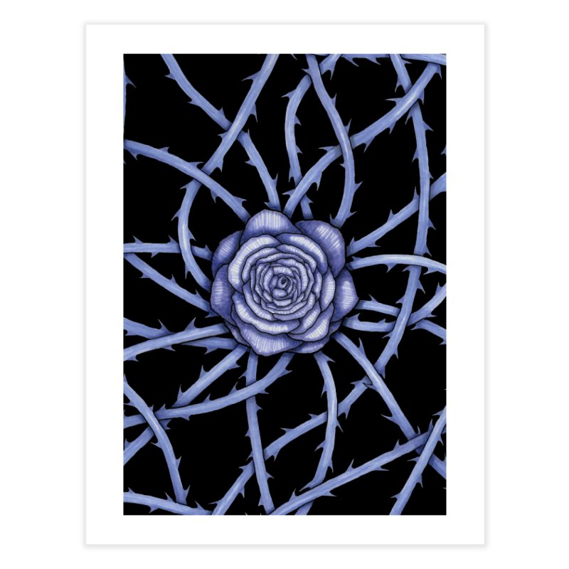 Rose Adversity Home Fine Art Print by Beryl Design Shop