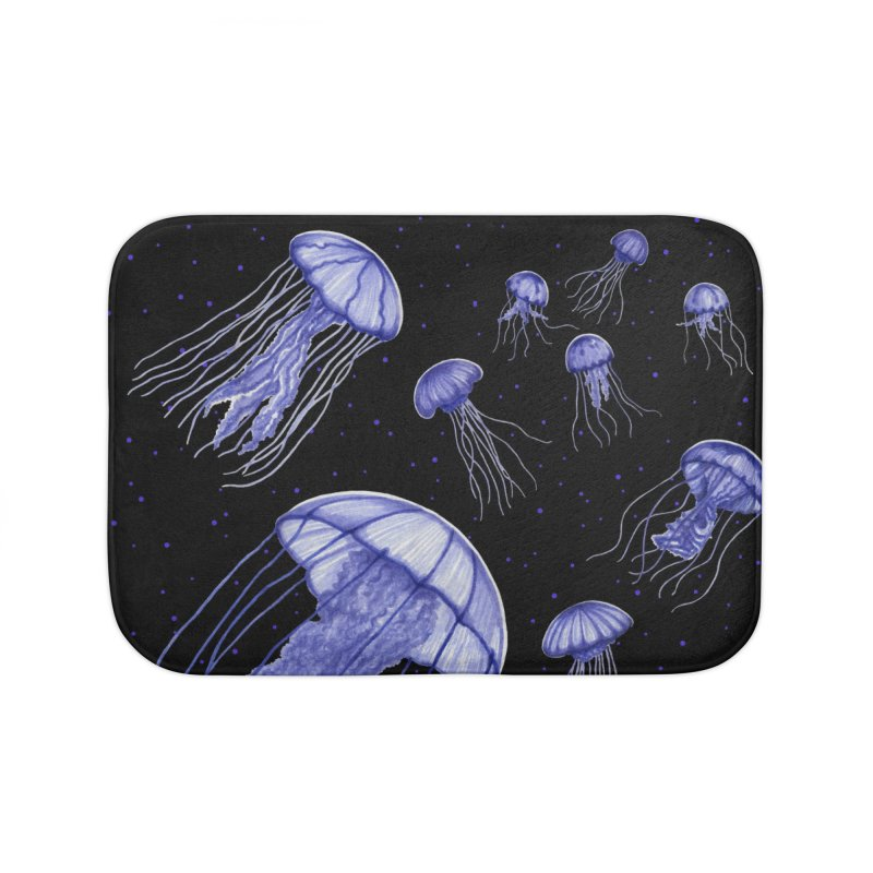 Jellyfish Home Bath Mat by Beryl Design Shop