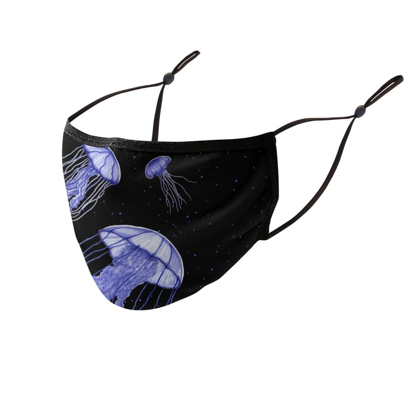 Jellyfish Accessories Face Mask by Beryl Design Shop