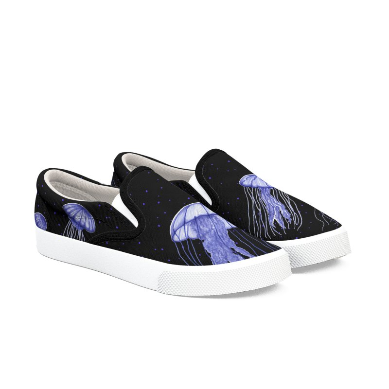 Jellyfish Women's Slip-On Shoes by Beryl Design Shop