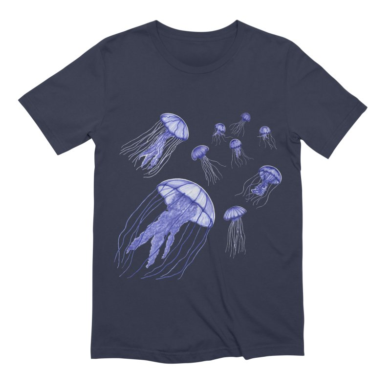 Jellyfish Men's Extra Soft T-Shirt by Beryl Design Shop