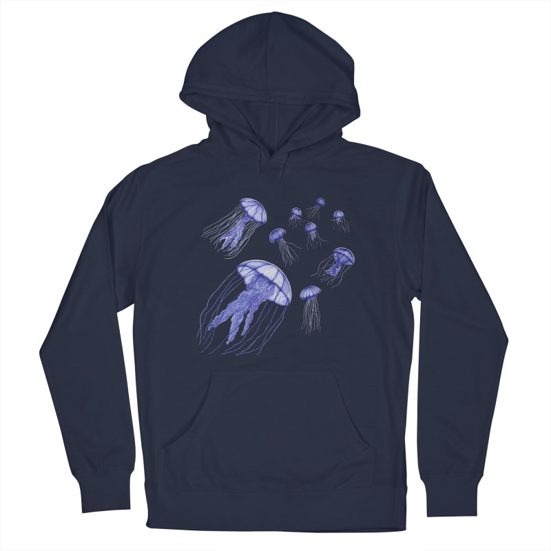 Jellyfish Men's Pullover Hoody by Beryl Design Shop