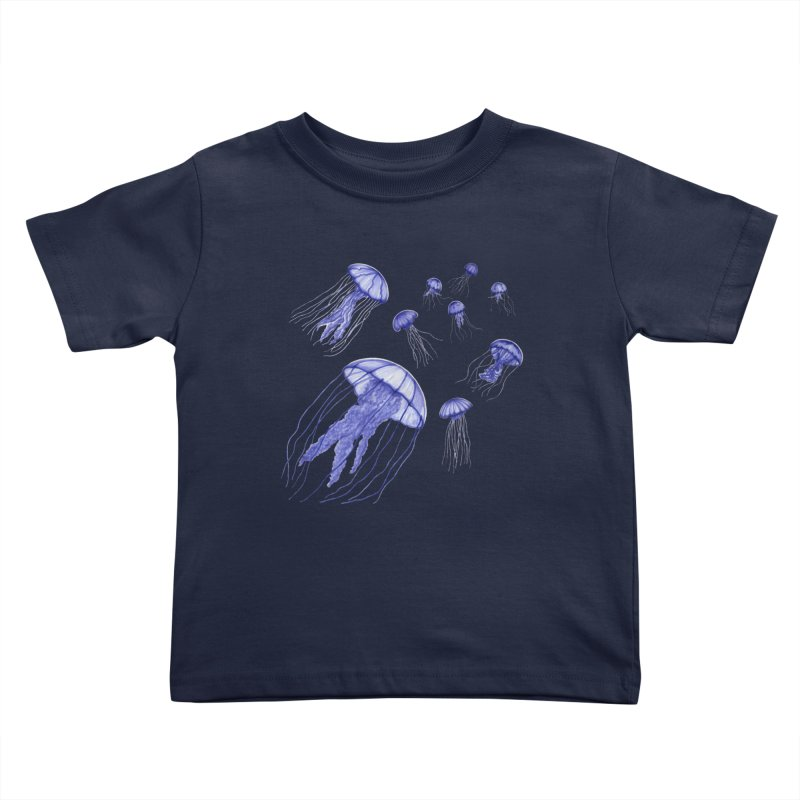 Jellyfish Kids Toddler T-Shirt by Beryl Design Shop