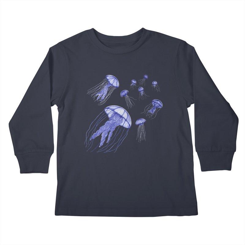 Jellyfish Kids Longsleeve T-Shirt by Beryl Design Shop