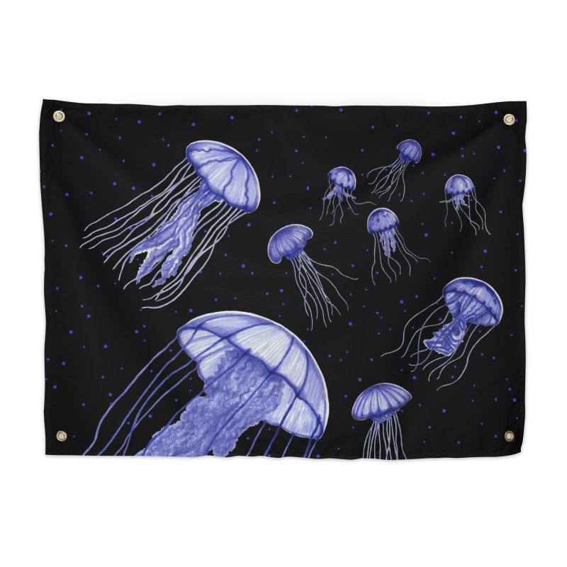 Jellyfish Home Tapestry by Beryl Design Shop