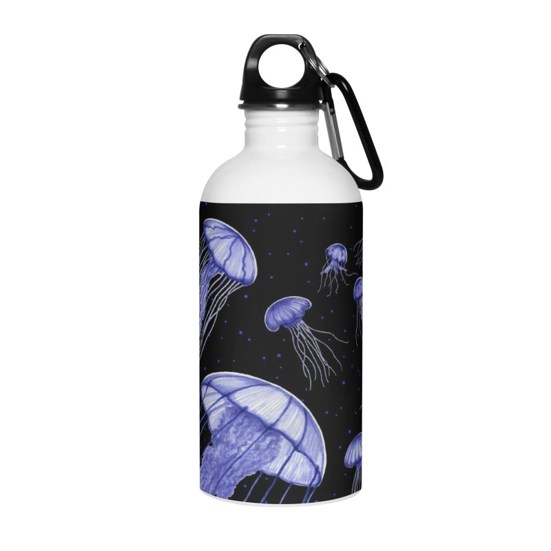 Jellyfish Accessories Water Bottle by Beryl Design Shop