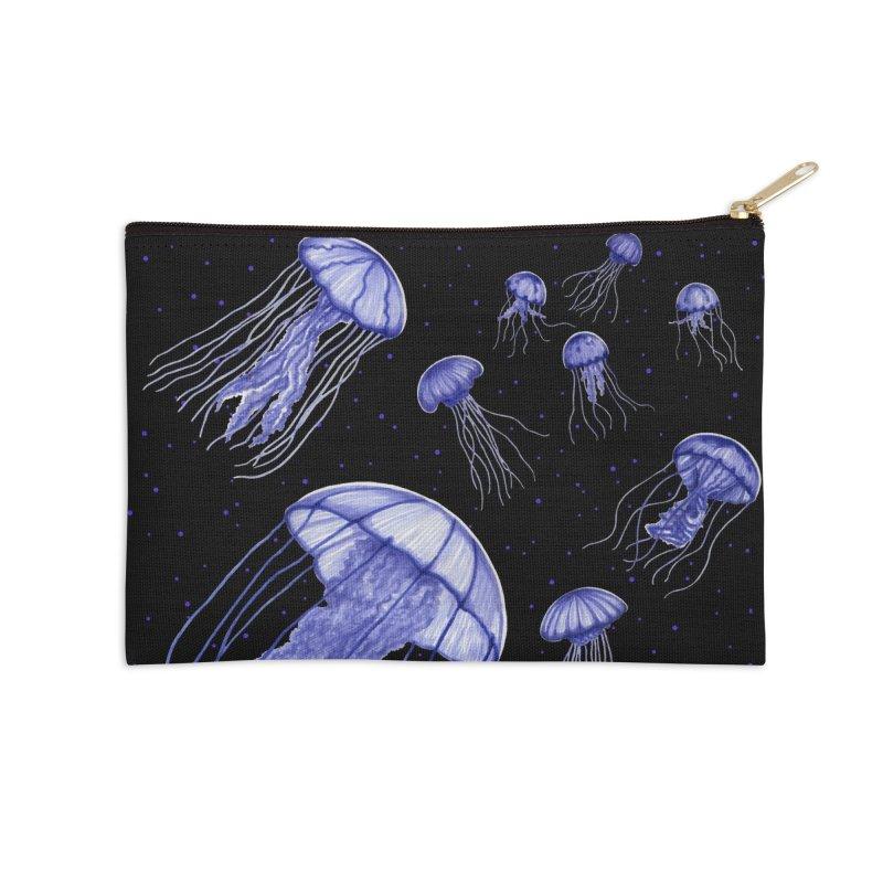Jellyfish Accessories Zip Pouch by Beryl Design Shop