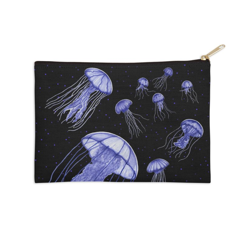 Jellyfish Accessories Zip Pouch by Beryl Design Shop