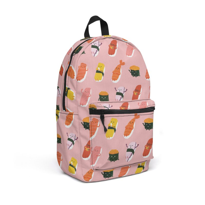 Cute Sushi in Backpack by Beryl Design Shop