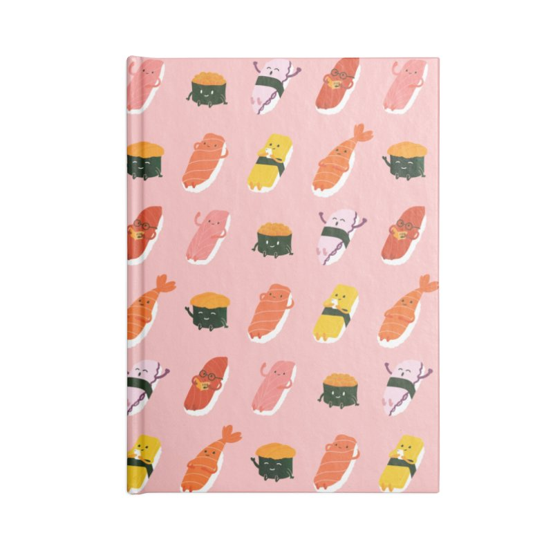 Cute Sushi Accessories Blank Journal Notebook by Beryl Design Shop