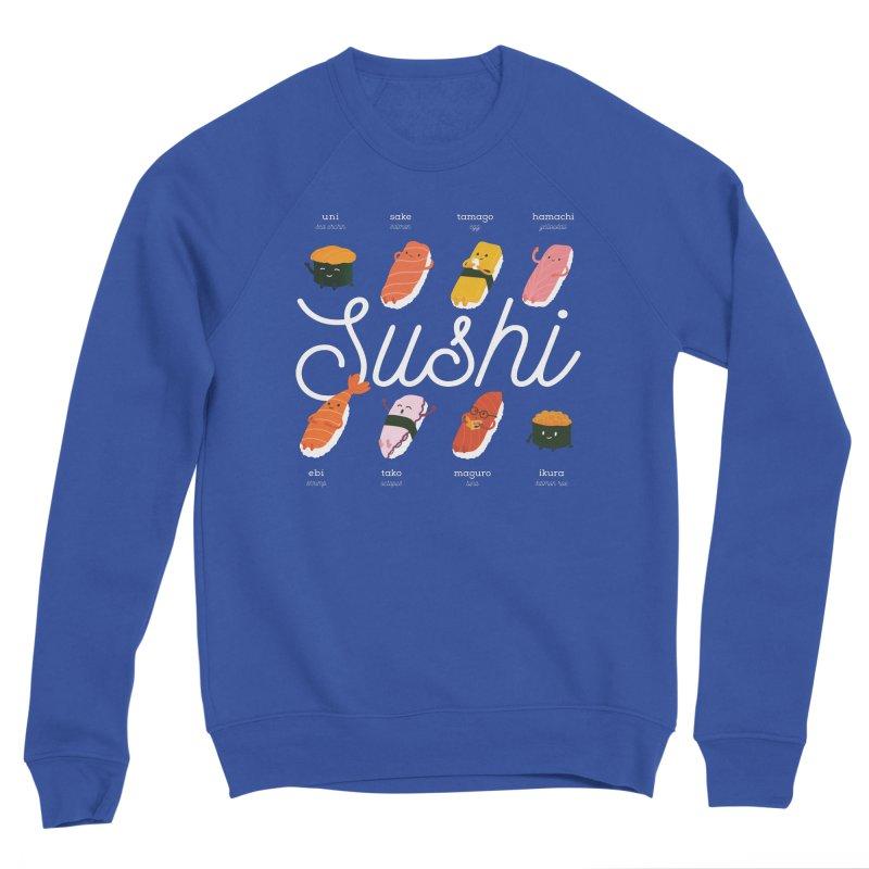 Cute Sushi Women's Sponge Fleece Sweatshirt by Beryl Design Shop