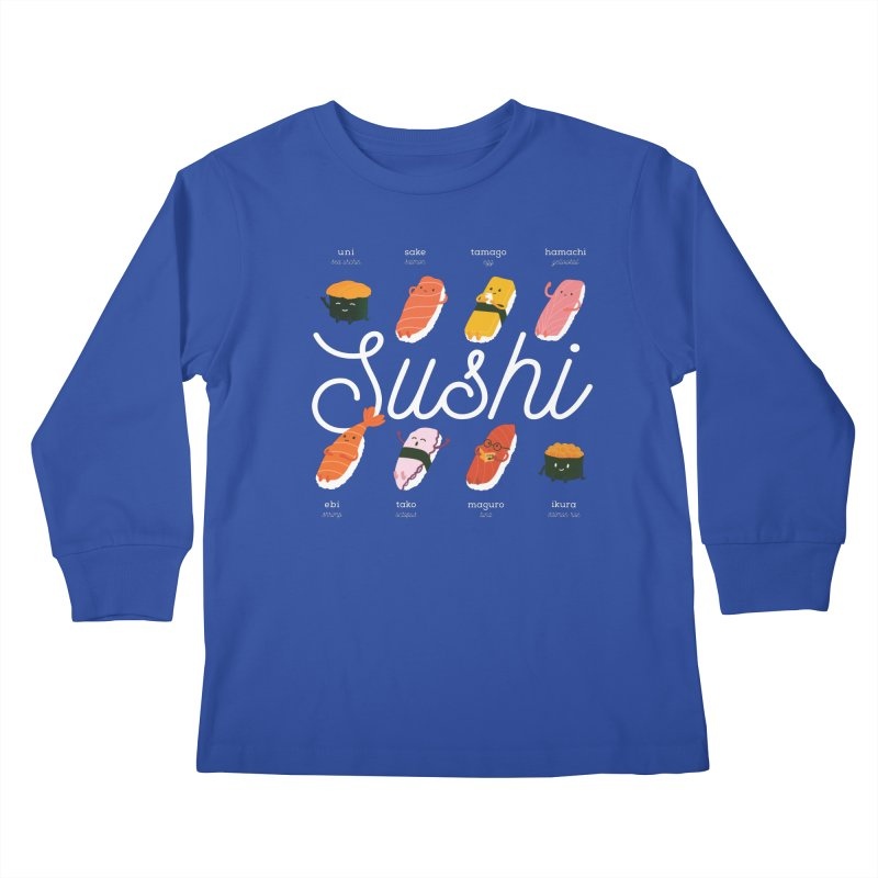 Cute Sushi Kids Longsleeve T-Shirt by Beryl Design Shop