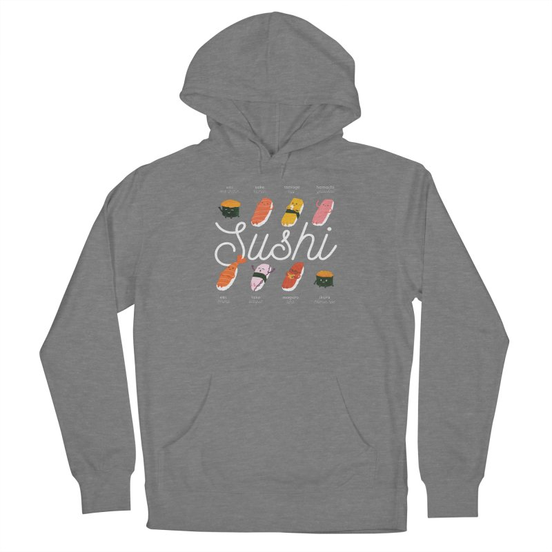 Cute Sushi Women's Pullover Hoody by Beryl Design Shop