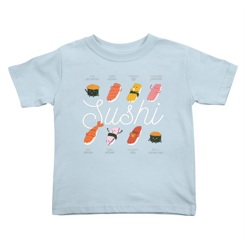 Cute Sushi Kids Toddler T-Shirt by Beryl Design Shop