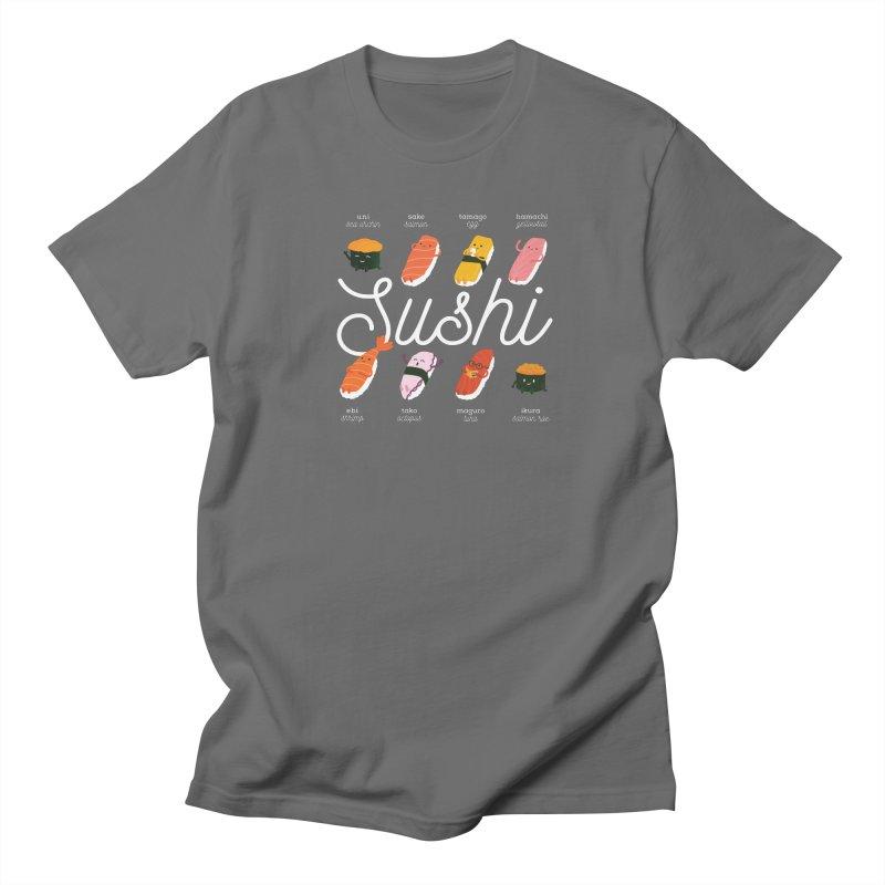 Cute Sushi Men's T-Shirt by Beryl Design Shop