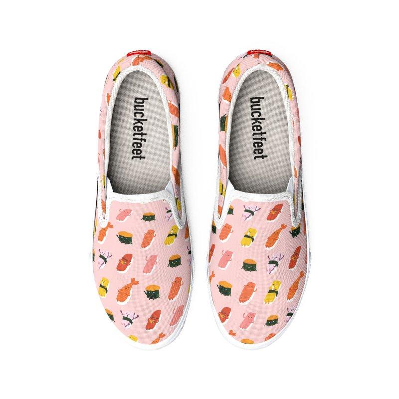 Cute Sushi Men's Shoes by Beryl Design Shop