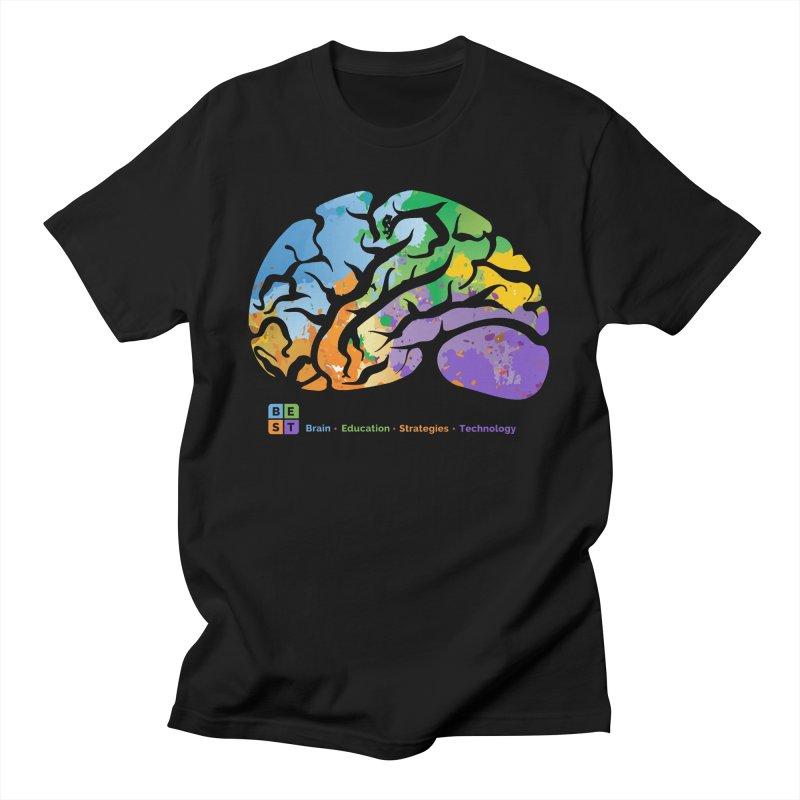 BEST BRAIN TEE Men's T-Shirt by bestconnections's Artist Shop
