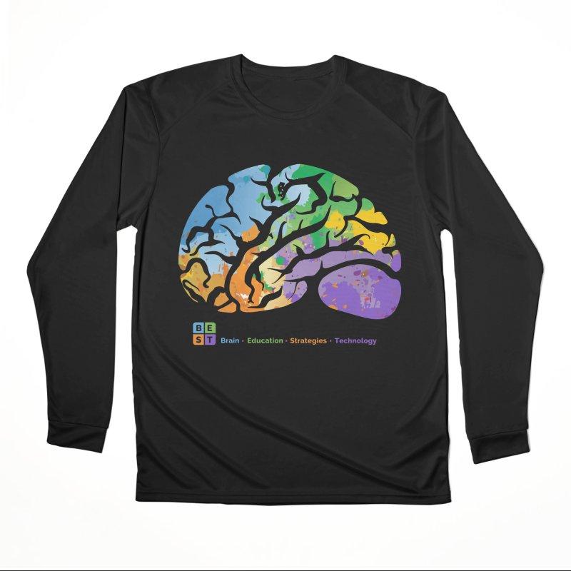 BEST BRAIN TEE Women's Longsleeve T-Shirt by bestconnections's Artist Shop
