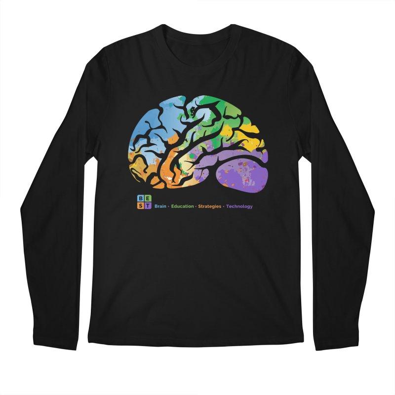 BEST BRAIN TEE Men's Longsleeve T-Shirt by bestconnections's Artist Shop